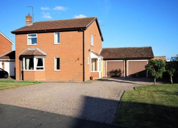 Thumbnail 4 bed detached house for sale in Town Farm Close, Pinchbeck, Spalding