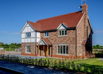 Thumbnail 5 bed detached house for sale in Moss Lane, Elworth, Sandbach, Cheshire