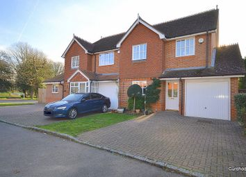 Thumbnail 3 bed semi-detached house for sale in Upper Halliford Road, Shepperton