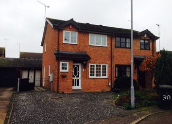 Thumbnail 3 bed semi-detached house to rent in Harlestone Close, Luton