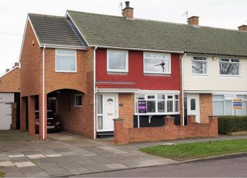 Thumbnail 4 bedroom end terrace house for sale in Broadwell Road, Middlesbrough