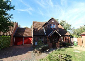 Thumbnail 4 bed detached house for sale in Alverton, Great Linford, Milton Keynes, Buckinghamshire