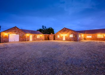 Thumbnail 5 bed detached bungalow for sale in Cattle Dyke, Gorefield, Wisbech, Cambridgeshire
