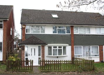 Thumbnail 4 bedroom semi-detached house to rent in Barn Close, Reading, Berkshire