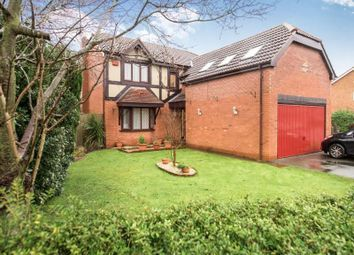 Thumbnail 4 bed detached house for sale in Ashdown Grove, Halewood, Liverpool