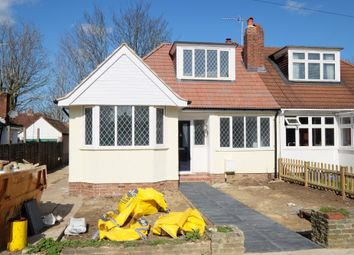 Thumbnail 3 bed semi-detached bungalow for sale in Lancing Road, Orpington