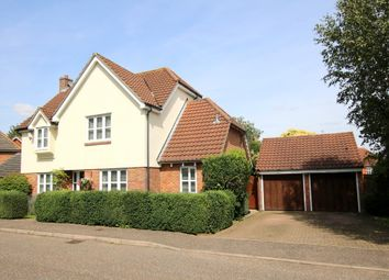 Thumbnail 4 bed detached house for sale in Coppice Close, Dunmow