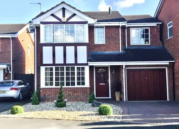 Thumbnail 4 bed detached house for sale in The Windrow, Perton, Wolverhampton