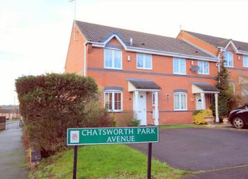 Thumbnail 3 bed town house for sale in Chatsworth Park Avenue, Hanford