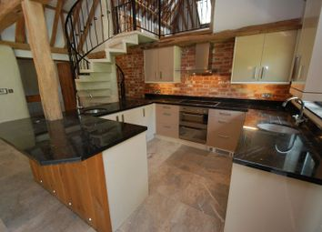 Thumbnail 3 bedroom barn conversion to rent in The Common, Dunston, Norwich