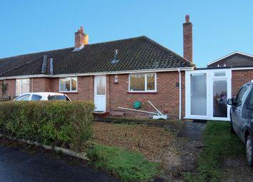 Thumbnail 2 bedroom semi-detached bungalow for sale in Yelverton Close, Hellesdon, Norwich