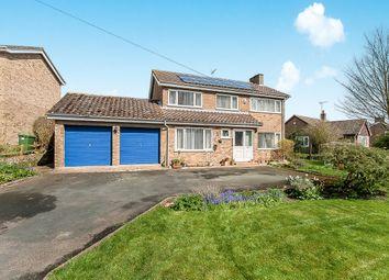 Thumbnail 4 bed detached house for sale in Caldecote Road, Stilton, Peterborough