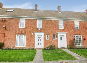 Thumbnail 4 bed terraced house for sale in Gainsborough Close, Folkestone