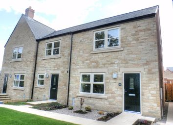 Thumbnail 3 bed terraced house to rent in Sea View, Longframlington, Morpeth