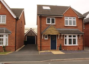 Thumbnail 4 bed detached house for sale in Lower Longlands, Tipton