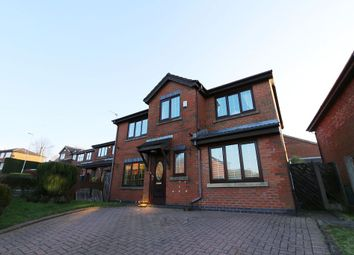 Thumbnail 4 bed detached house for sale in Hillspring Road, Springhead, Oldham, Greater Manchester