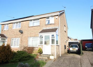 Thumbnail 3 bed semi-detached house for sale in Lundy Drive, Newport, Wales