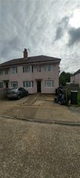 Thumbnail 3 bed maisonette to rent in Rostrevor Gardens, Southall, Middlesex