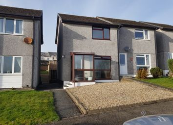 Thumbnail 2 bed semi-detached house to rent in Cul Rian, Nanpean, St Austell