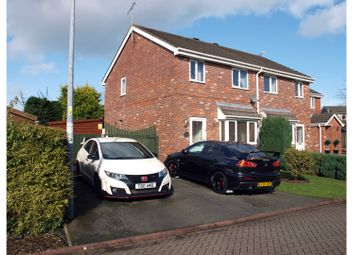 Thumbnail 3 bed semi-detached house for sale in Herrick Close, Crewe
