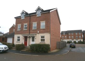Thumbnail 3 bed town house to rent in Moss Chase, Macclesfield