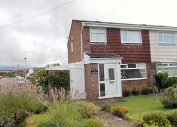 Thumbnail 3 bed semi-detached house for sale in Clos Y Grug, Nottage, Porthcawl, Nottage, Porthcawl