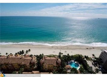 Thumbnail 3 bed town house for sale in 2100 N Ocean Blvd 24A, Fort Lauderdale, Fl, 33305