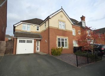 Thumbnail 4 bed detached house for sale in Rolls Avenue, Crewe