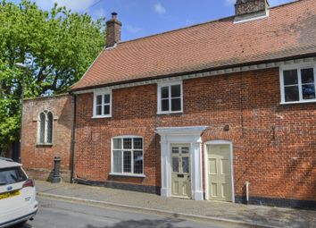 Thumbnail 4 bed terraced house for sale in Church Street, Wymondham