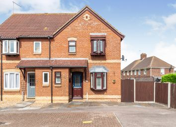 Thumbnail Semi-detached house for sale in Deacon Mews, Marston Moretaine, Bedford