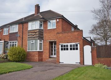 Thumbnail 3 bed semi-detached house for sale in St. Chads Road, Sutton Coldfield