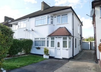 Thumbnail 3 bed semi-detached house to rent in Farrer Road, Kenton