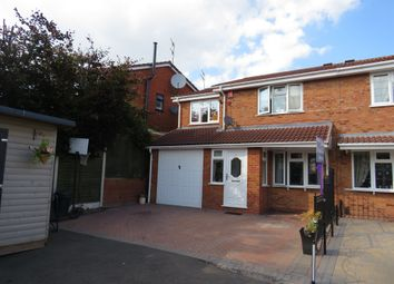 Thumbnail 4 bedroom semi-detached house for sale in Belvoir Close, Dudley