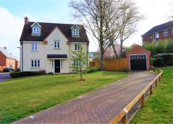 Thumbnail 5 bedroom detached house for sale in North Lodge Drive, Papworth Everard, Cambridge