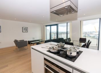 Thumbnail 3 bed flat to rent in Yabsley Street, Canary Wharf