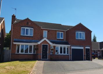 Thumbnail 5 bed detached house for sale in Hawthorne Drive, Thornton, Coalville