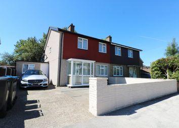 Thumbnail 3 bed semi-detached house for sale in Chertsey Crescent, New Addington, Croydon