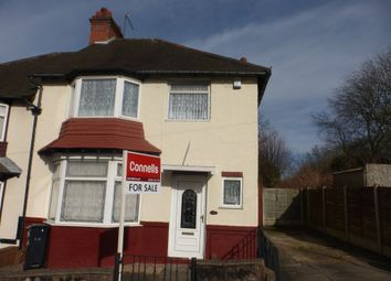 Thumbnail 3 bedroom semi-detached house for sale in Claughton Road, Dudley