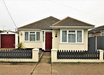 Thumbnail 2 bed detached bungalow for sale in Odessa Road, Canvey Island, Essex