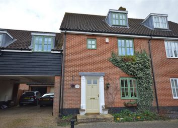 Thumbnail 4 bed terraced house for sale in Bromedale Avenue, Mulbarton, Norwich