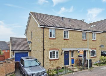 Thumbnail 3 bed semi-detached house for sale in Ayrshire Close, Kennington, Ashford