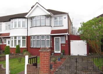 Thumbnail 3 bed end terrace house for sale in Millet Road, Greenford