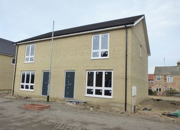 Thumbnail 3 bedroom semi-detached house for sale in De-Havilland Road, Wisbech