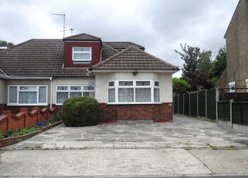 Thumbnail 3 bed semi-detached bungalow to rent in Cross Road, Mawneys, Romford