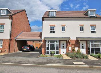 Thumbnail 4 bed semi-detached house for sale in 33 Whitlock Avenue, Wokingham, Berkshire
