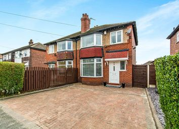 Thumbnail 3 bed semi-detached house for sale in Woodfield Avenue, Hyde