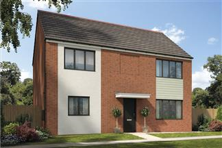 Thumbnail 4 bed detached house for sale in The Rowan, Holystone Way, Holystone, Newcastle Upon Tyne