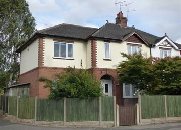 Thumbnail 4 bed semi-detached house for sale in Meadow Avenue, Cross Heath, Newcastle-Under-Lyme
