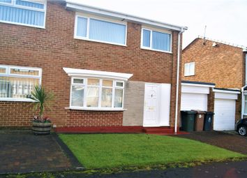 Thumbnail 3 bed semi-detached house for sale in Agincourt, Killingworth, Newcastle Upon Tyne