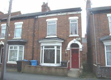 Thumbnail 3 bed terraced house to rent in Clumber Street, Princes Avenue, Hull